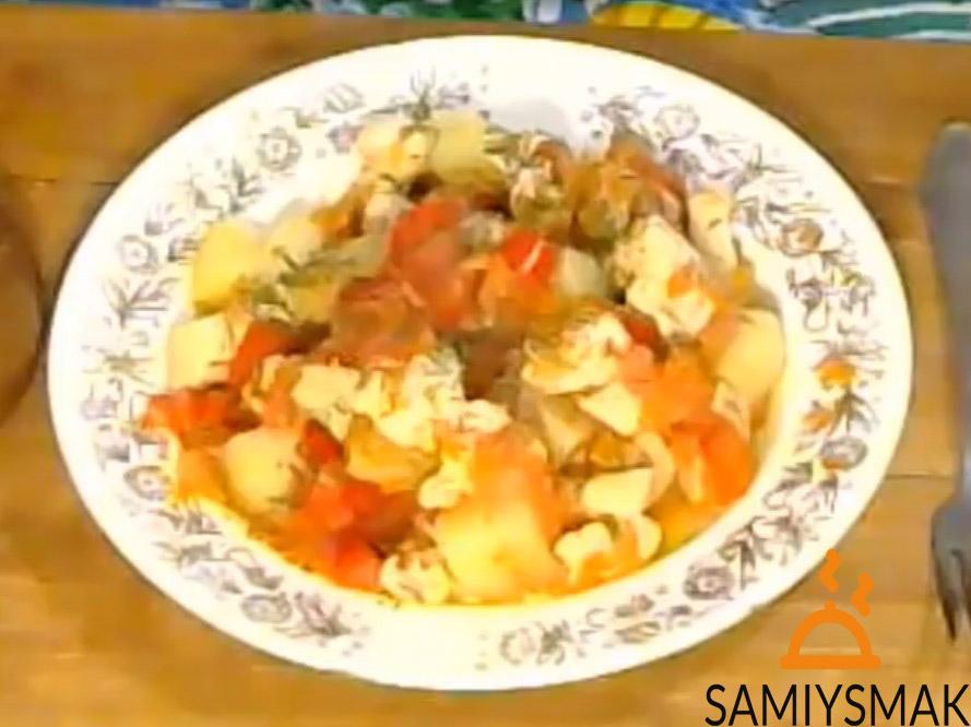 Приготовить рагу из курицы с овощами