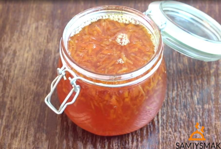 Апельсиновое варенье с цедрой