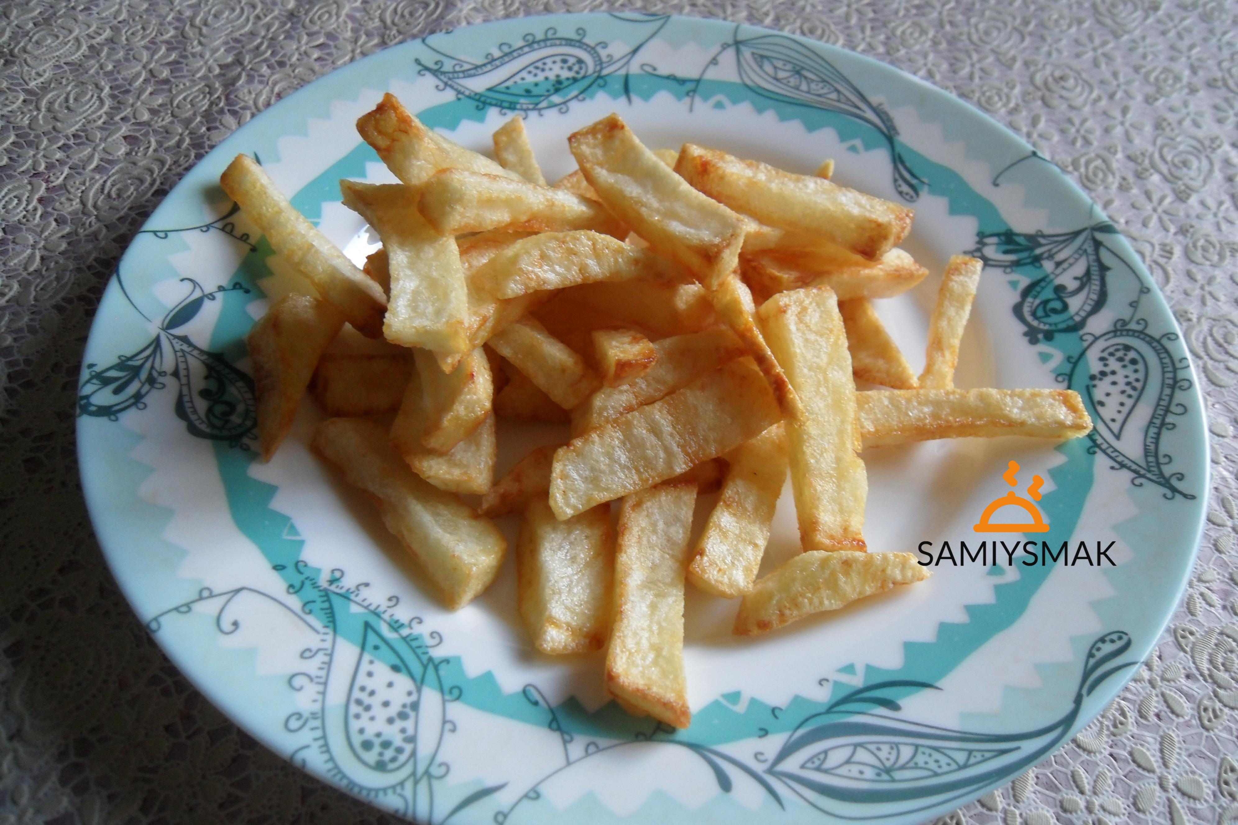 Картошка фри домашняя по рецепту