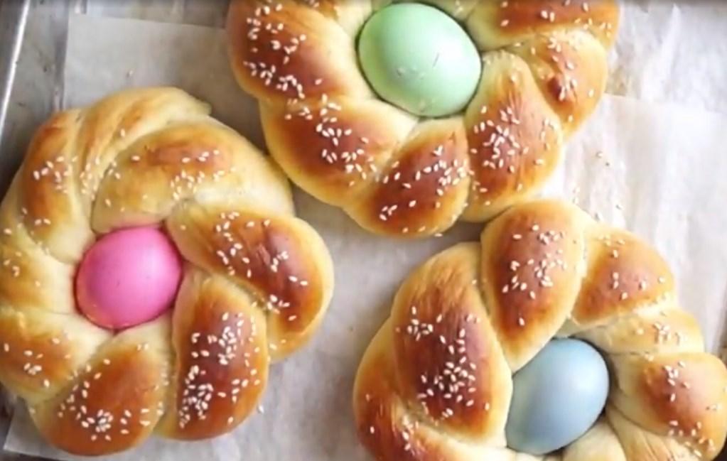 Пасхальный хлеб по французскому рецепту