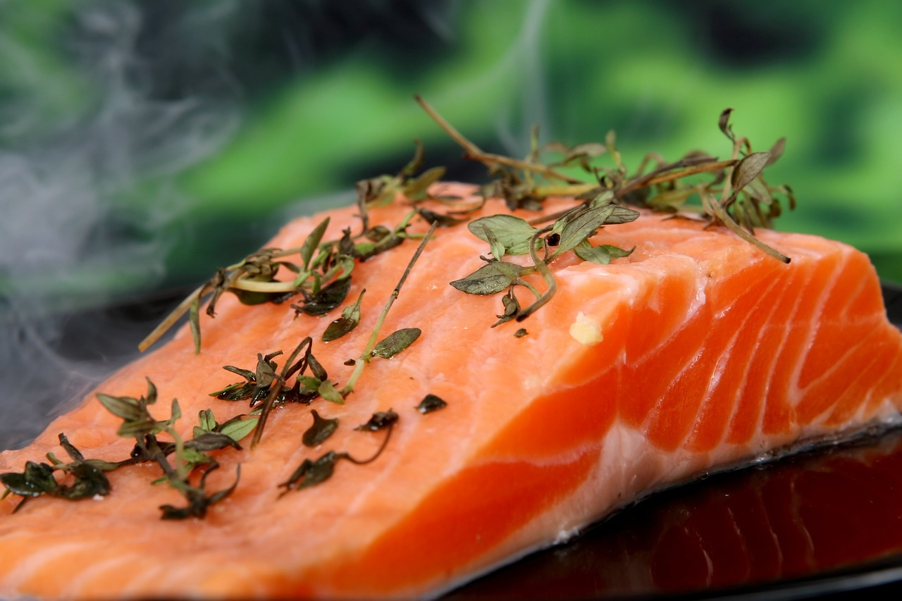 Сухой маринад для красной рыбы