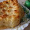 Творожная запеканка с яйцом и манкой
