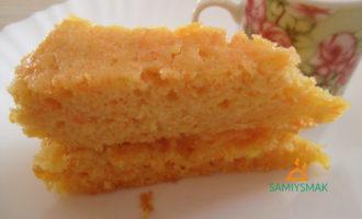 Вкусный морковный кекс