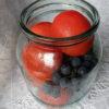 Виноград с помидорами маринованный