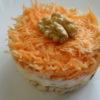 Салат из куриного филе с морковью