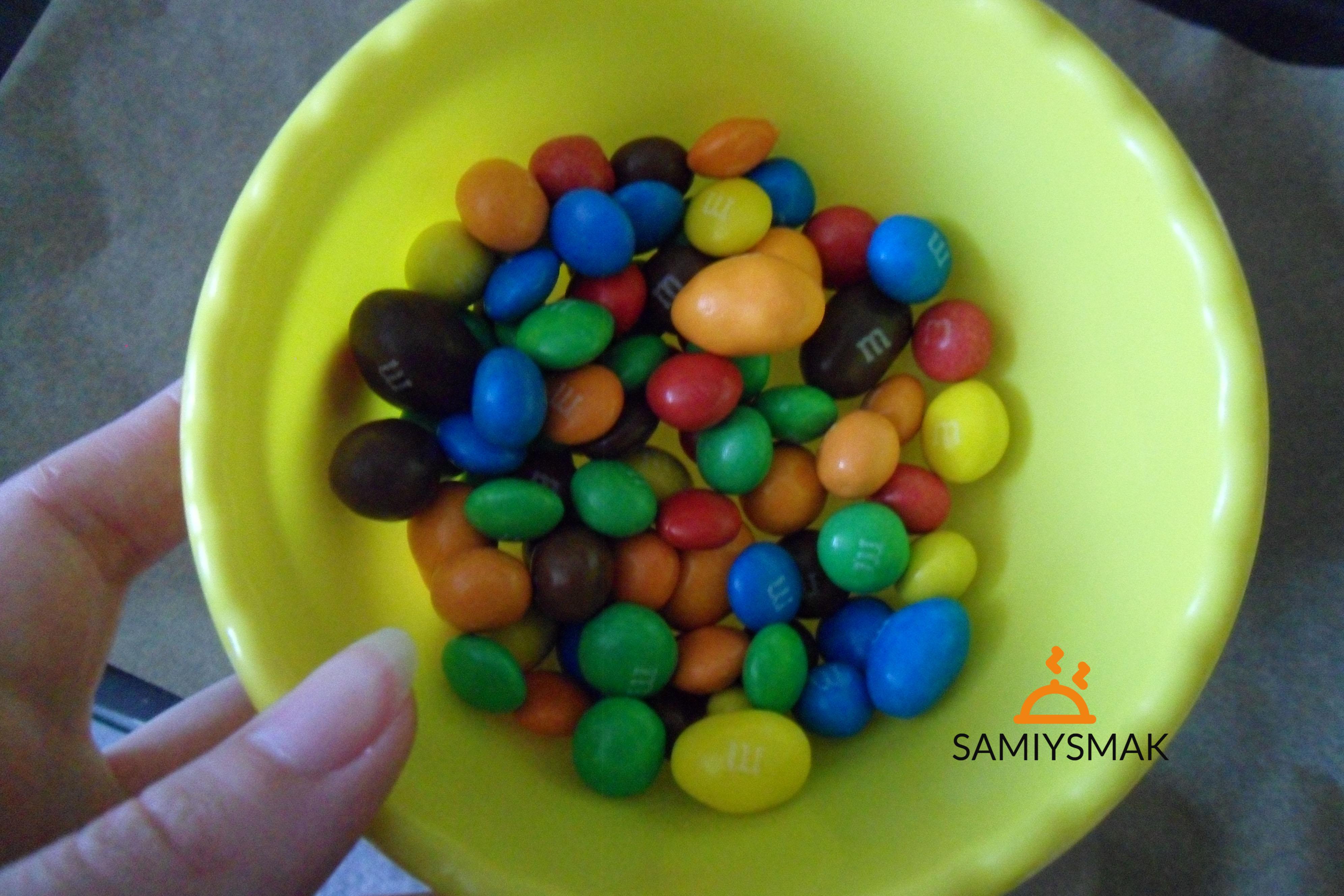 Цветные конфеты