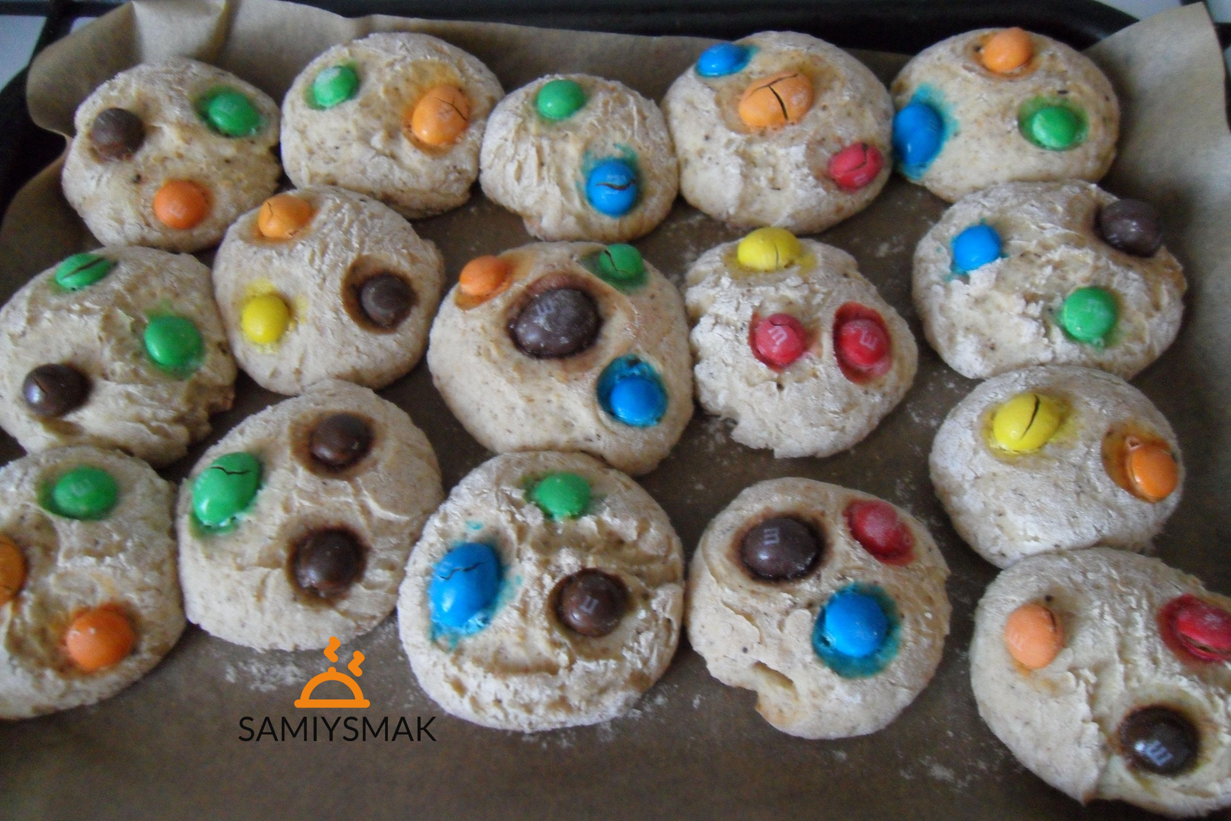 Печенья с шоколадом