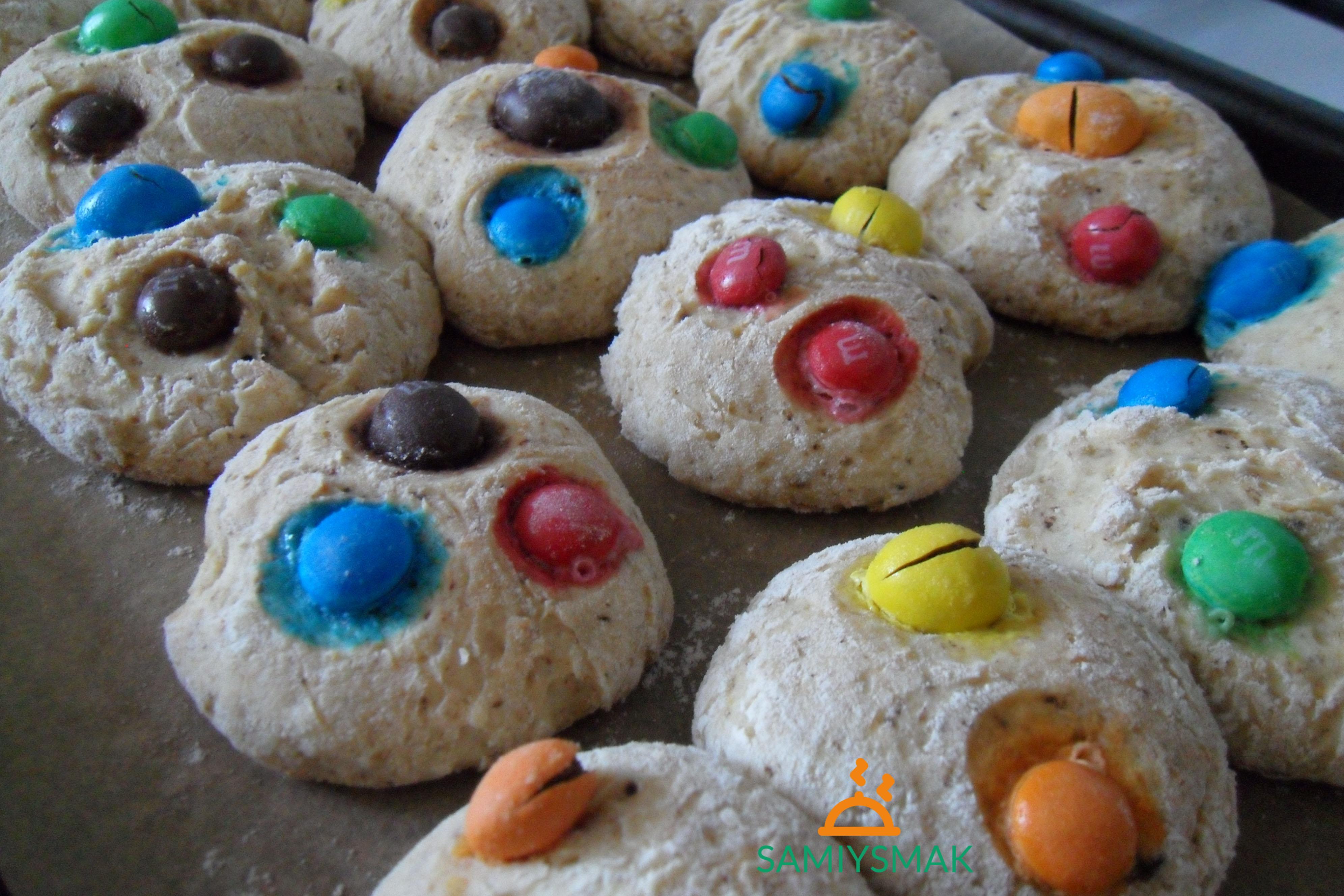 Печенье с тертым шоколадом