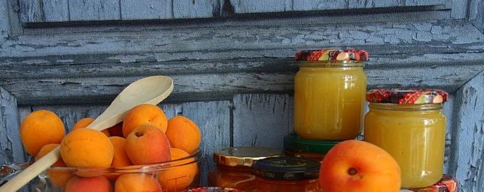 Вкусные заготовки из абрикосов