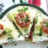 Торт из кабачка с помидорами и сыром