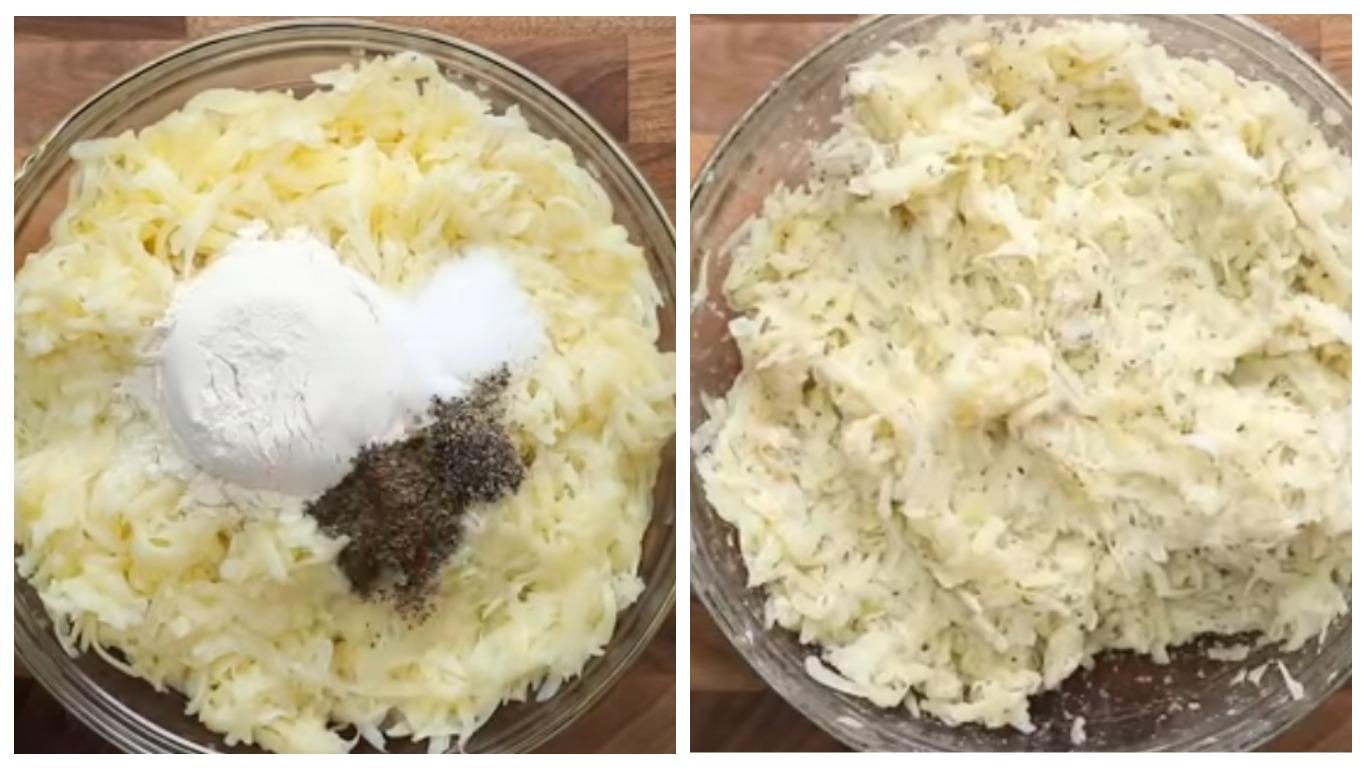 Как готовить тесто из картошки
