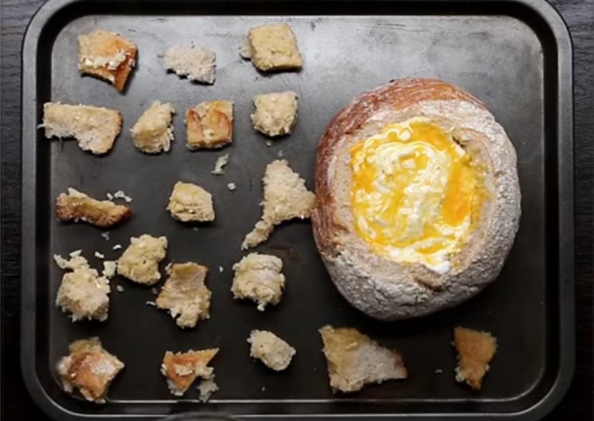 Булка с сыров в духовку