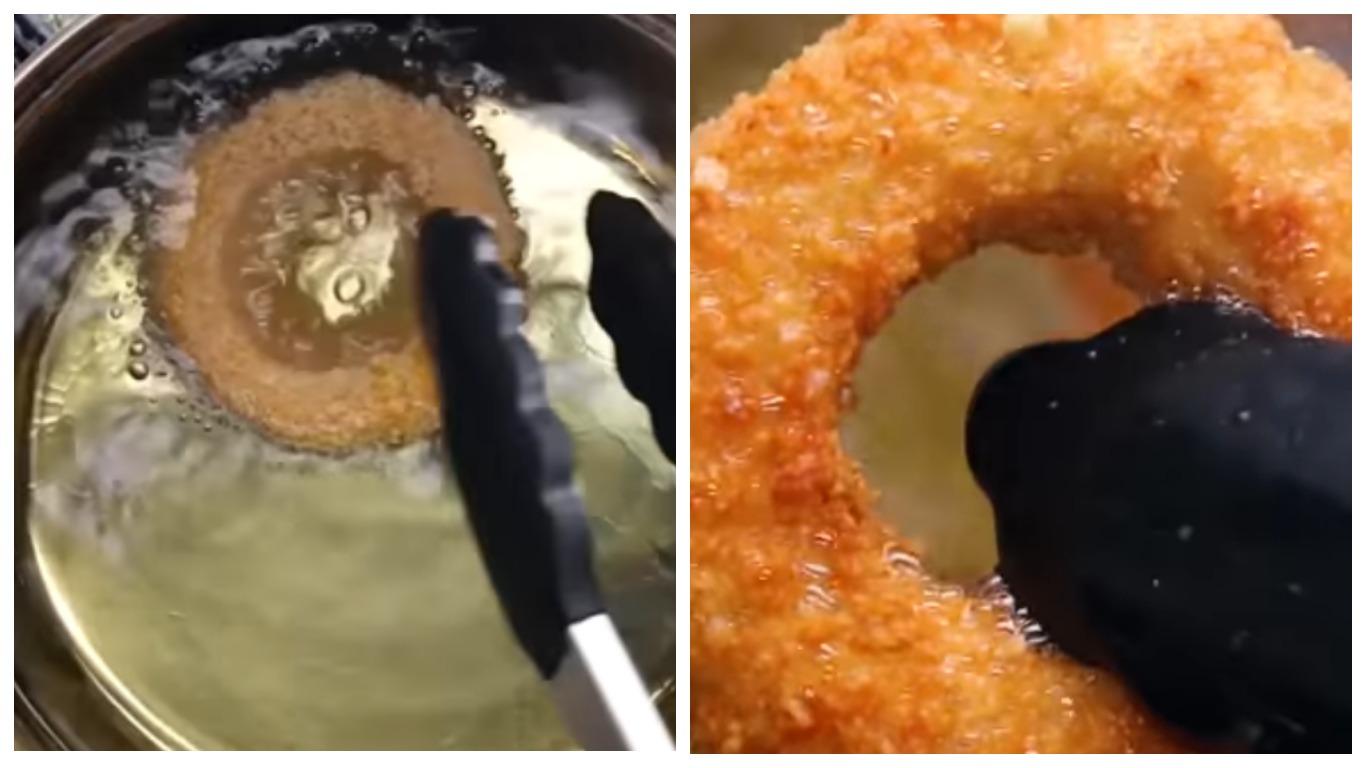 Как жарить луковые кольца