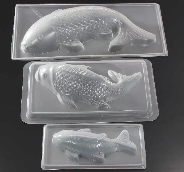 Силиконовые формы в виде рыбы