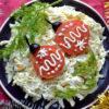 Новогодний салат с елочными шариками