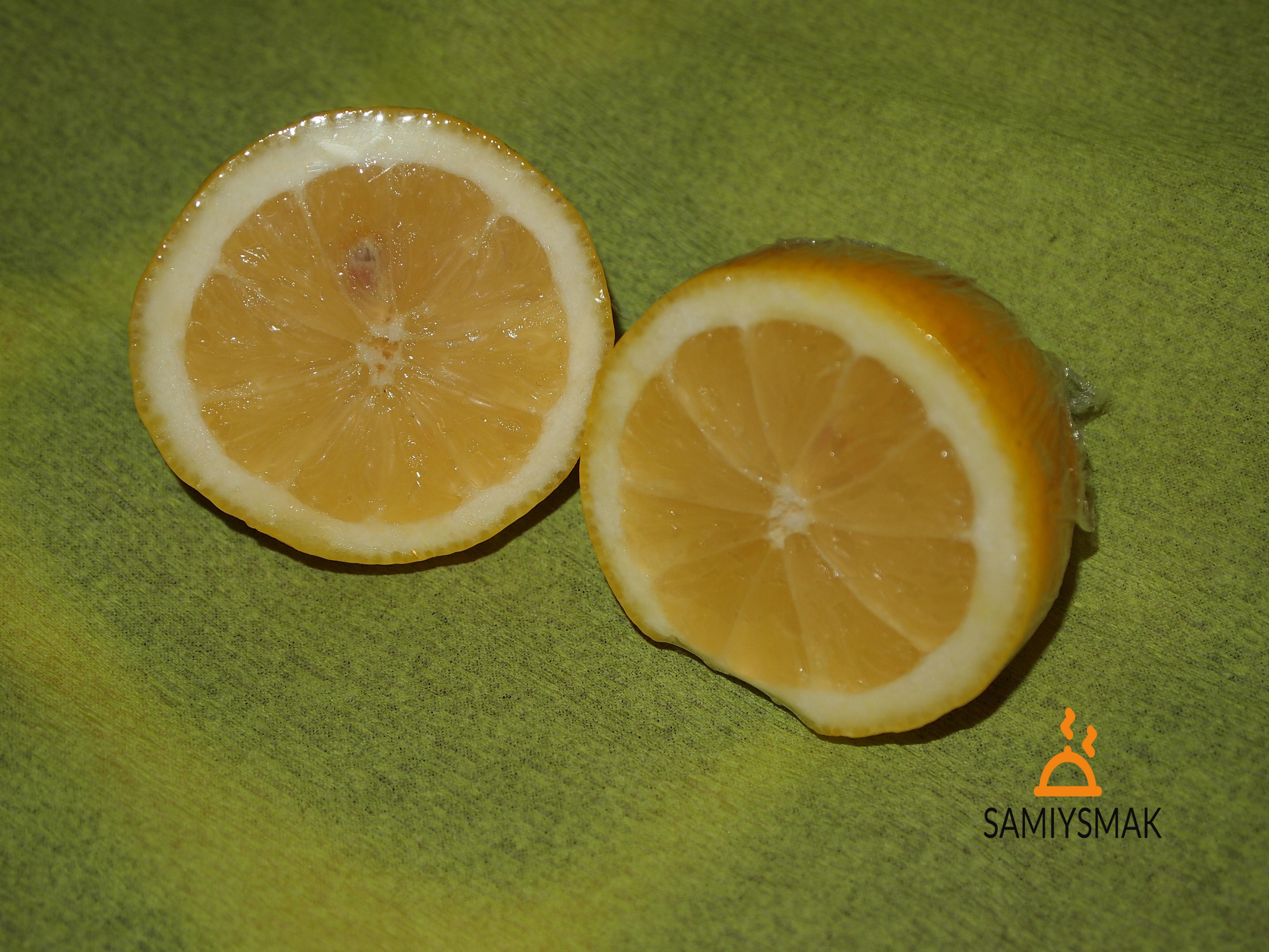 Лимоны в нарезке