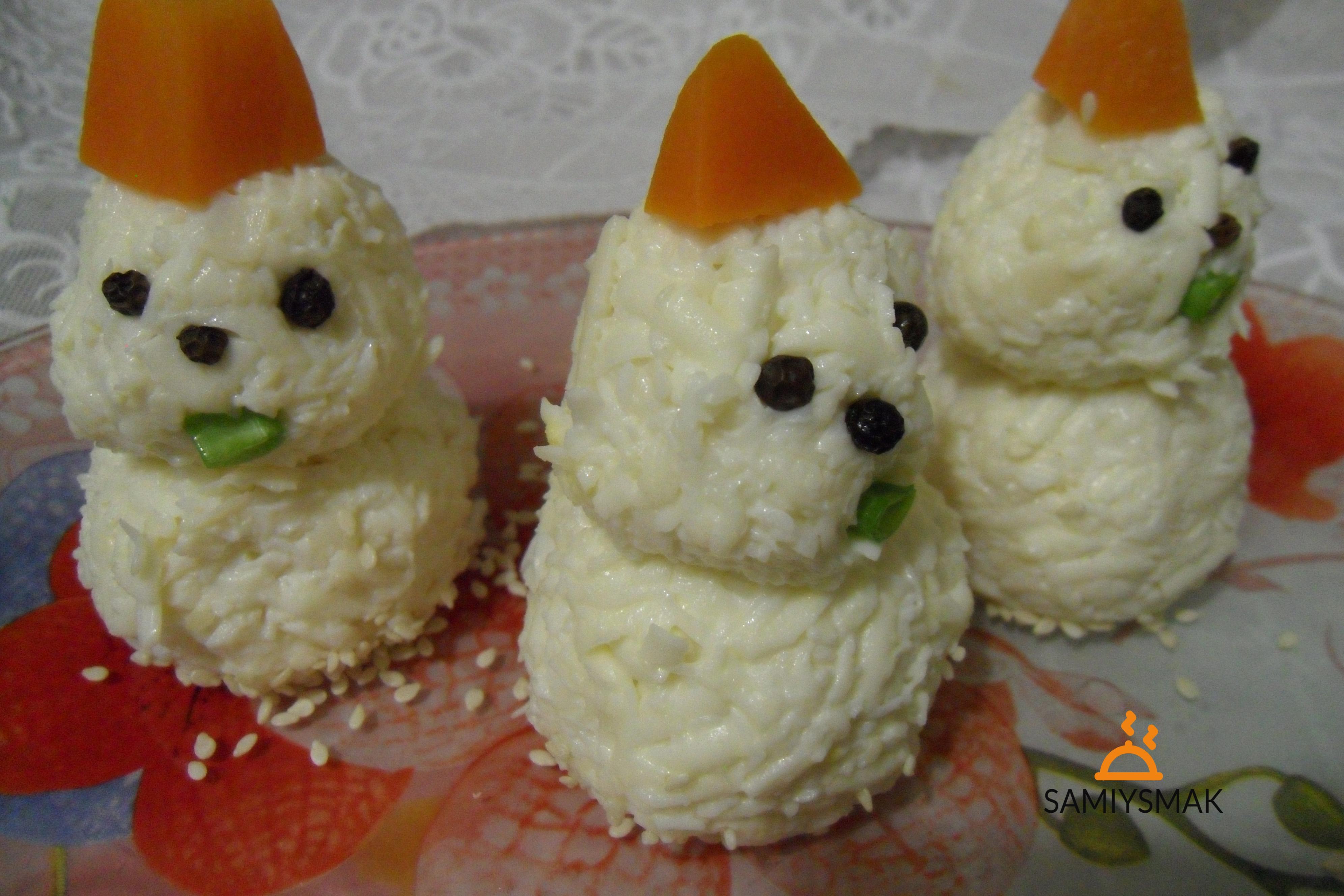 Снеговики на закуску