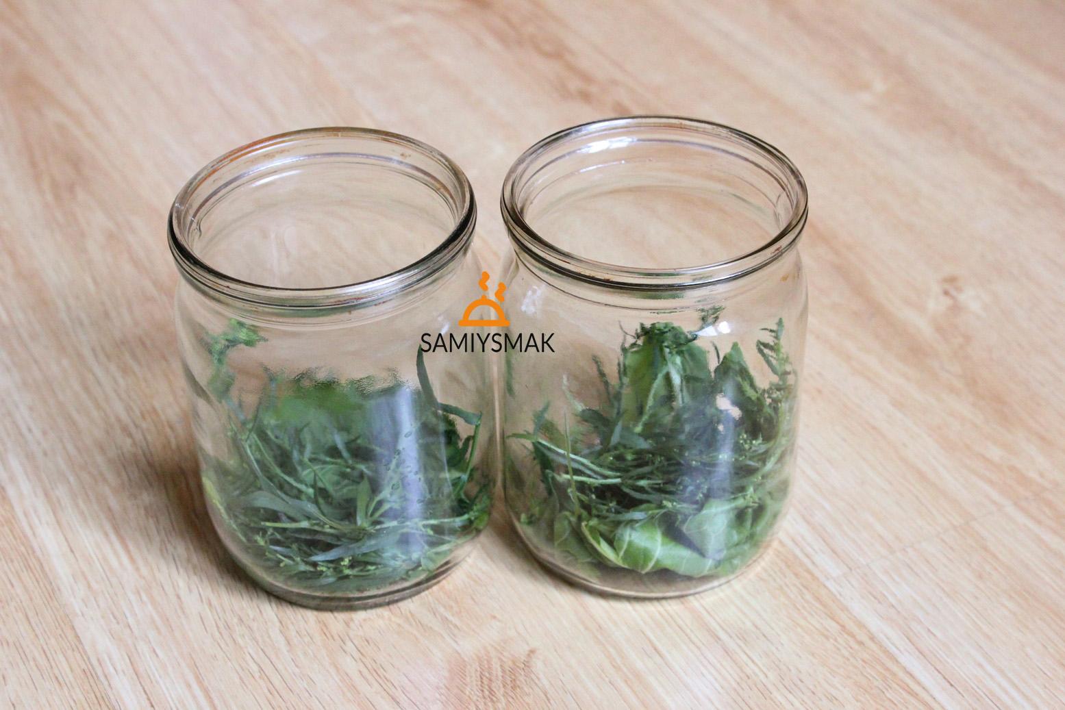 Пряные травы в банках по 500 мл