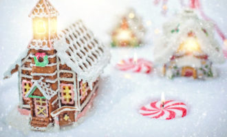 Как сделать пряничный домик в домашних