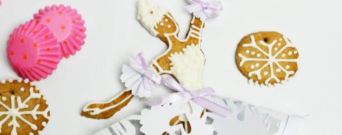Печенье елочная игрушка в виде балерины