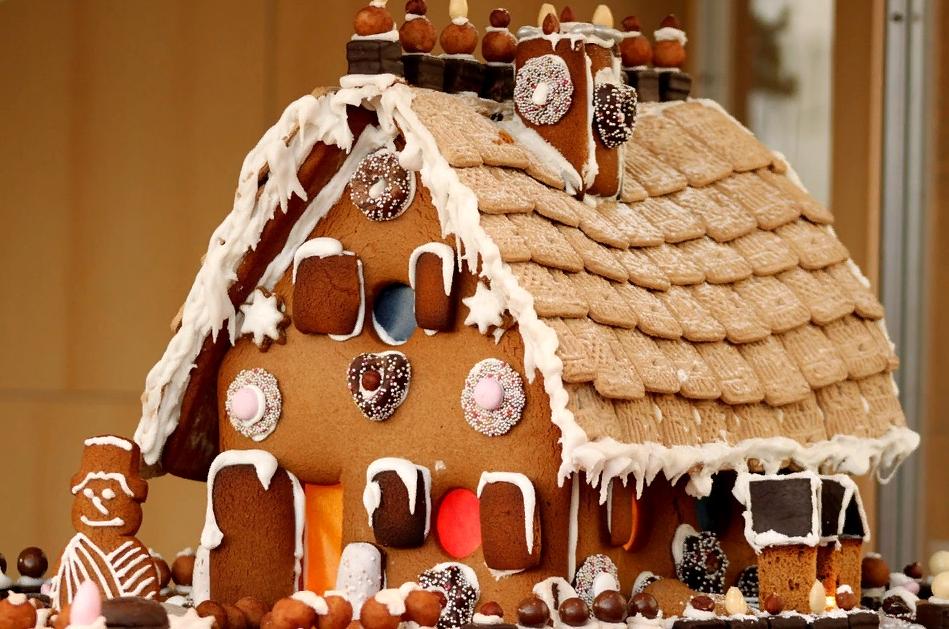 Печенья в виде дома