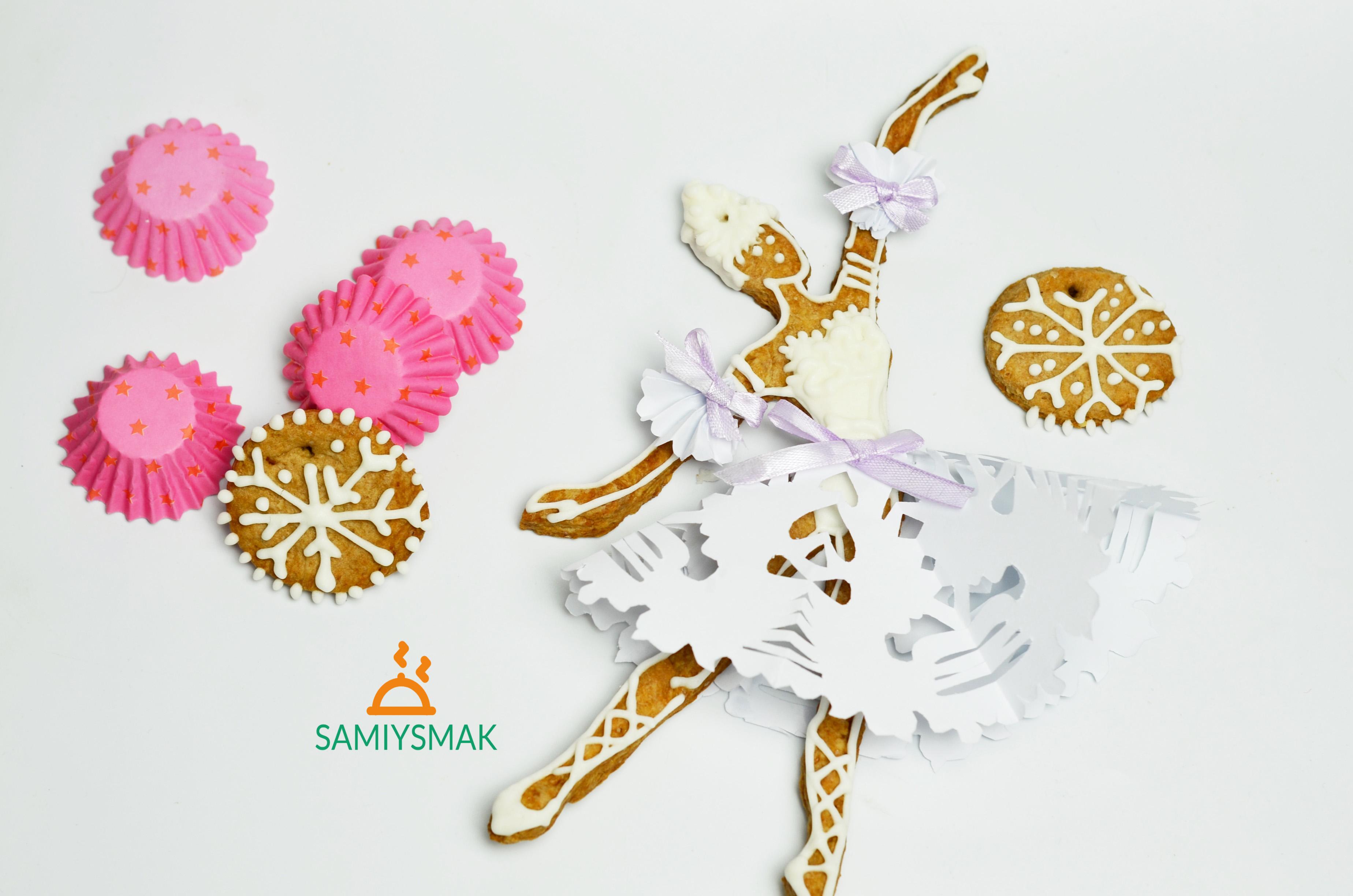 Печенье в виде балерины