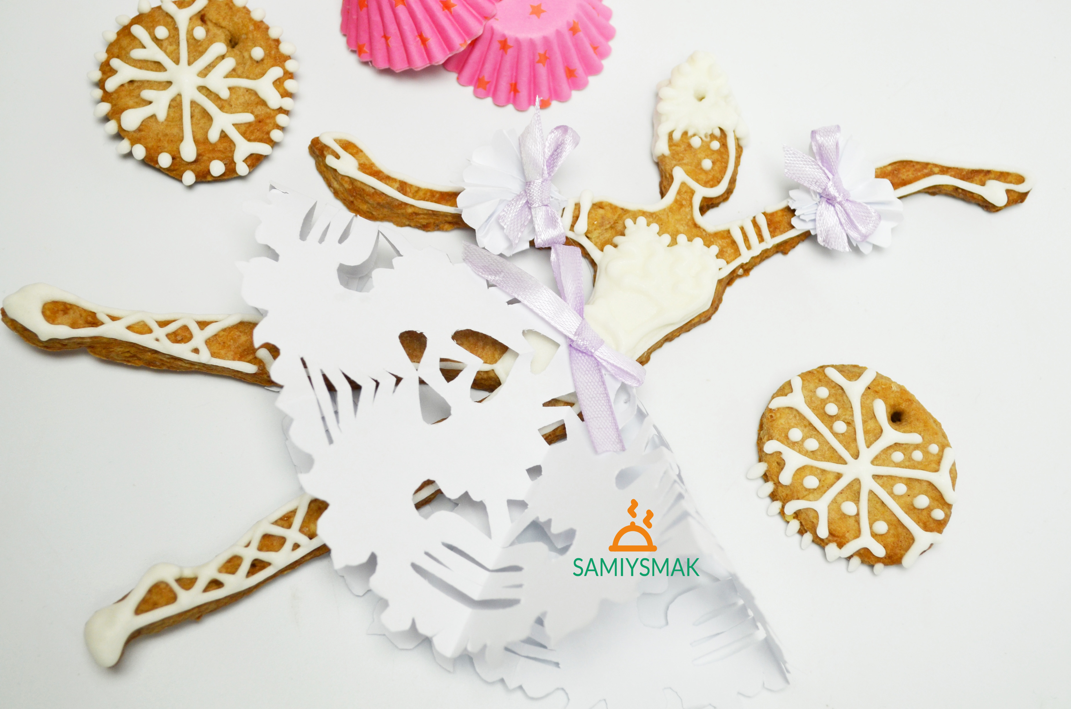 Фото печенья с салфеткой