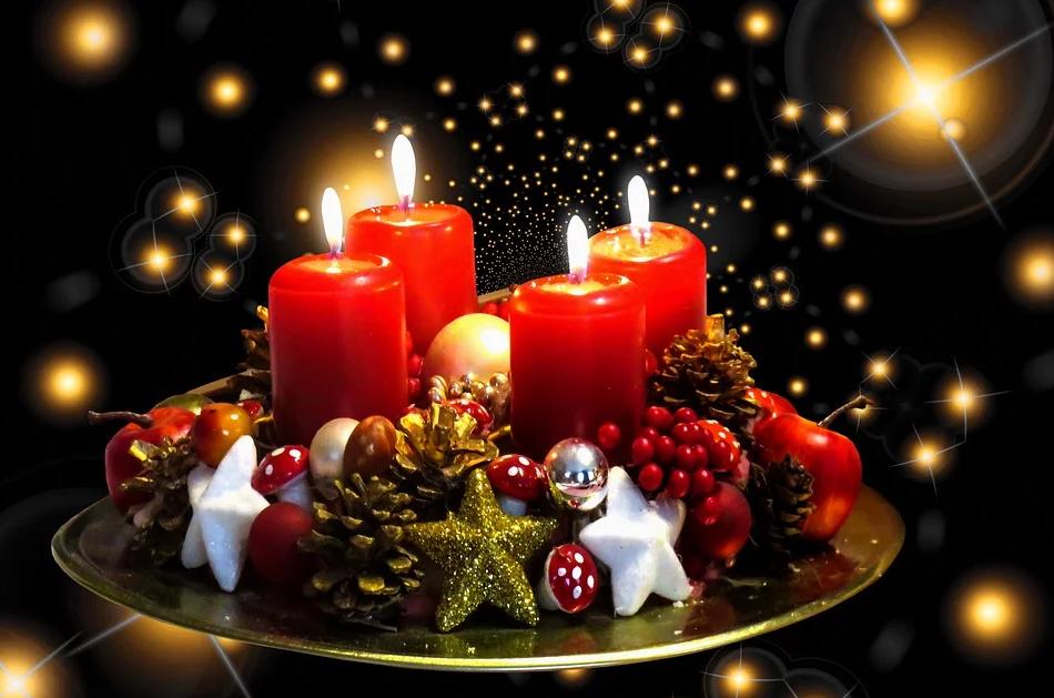 Свечи к Рождеству