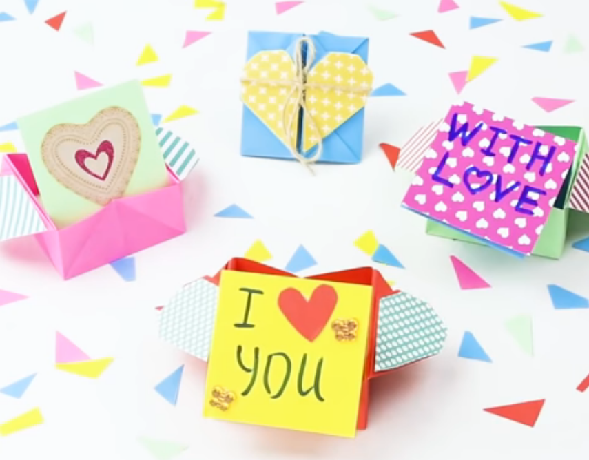 Я тебя люблю на бумаге