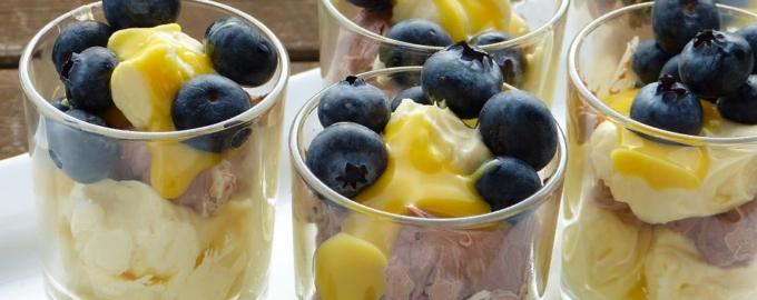 Рецепты фруктовых салатов