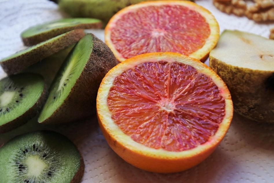 Киви и грейпфрут
