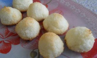 Кокосовое печенье без муки