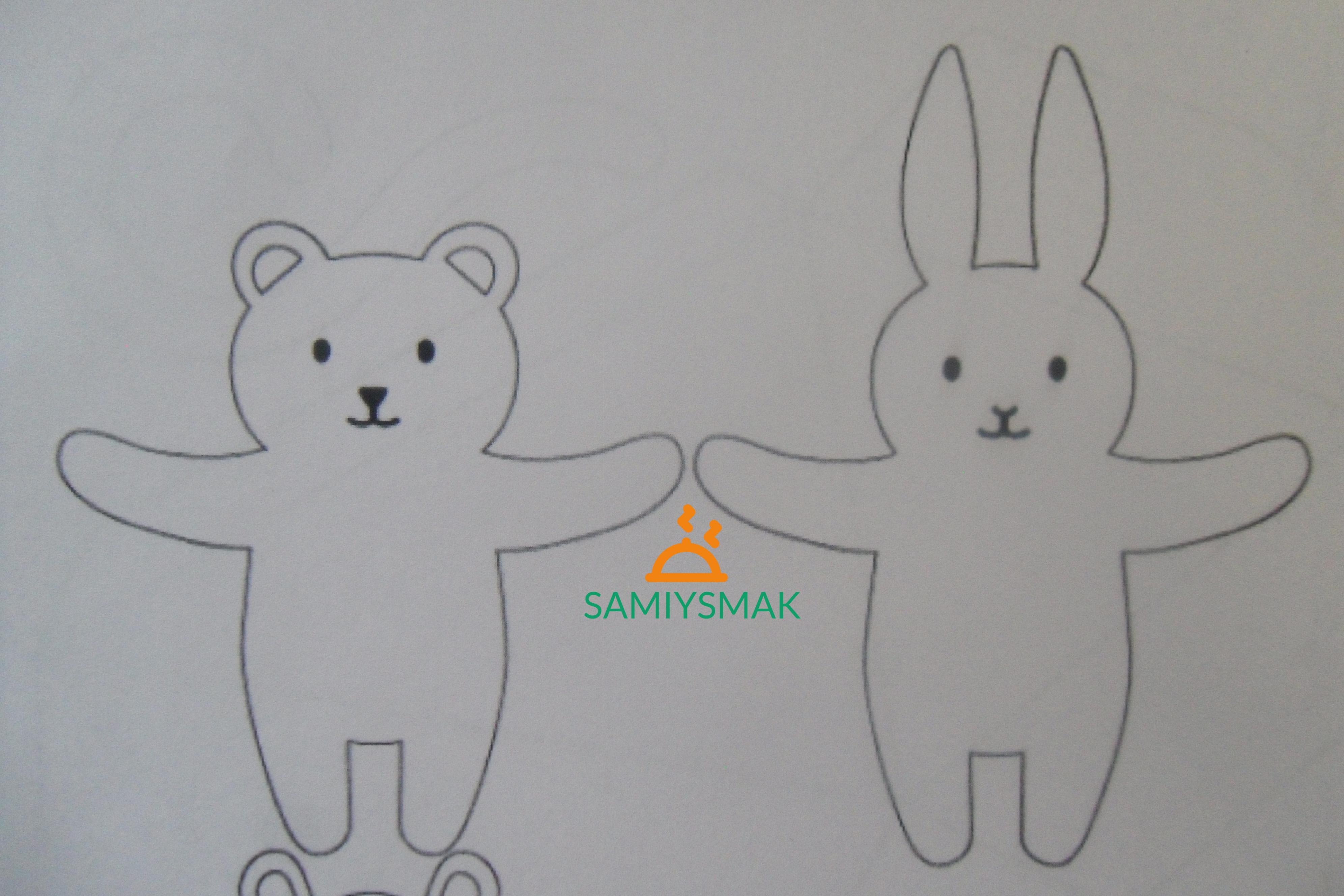 Медведь и зайчик