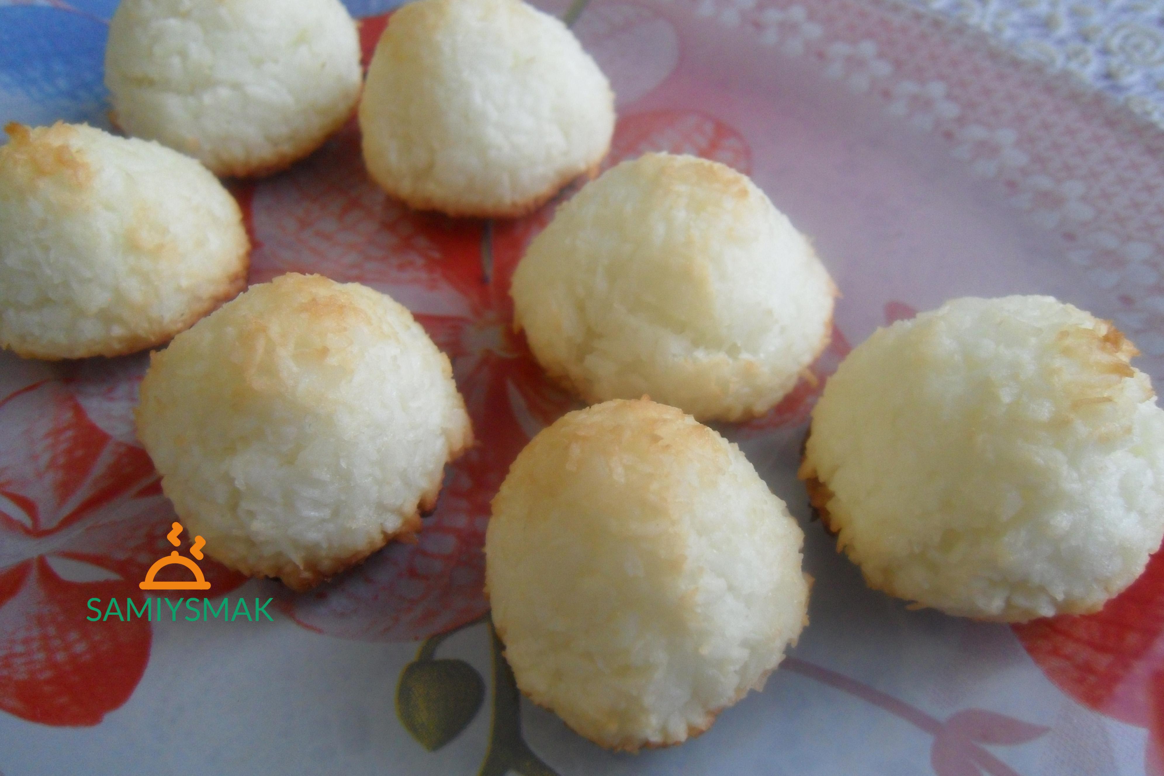 Печенье из кокоса и сахара