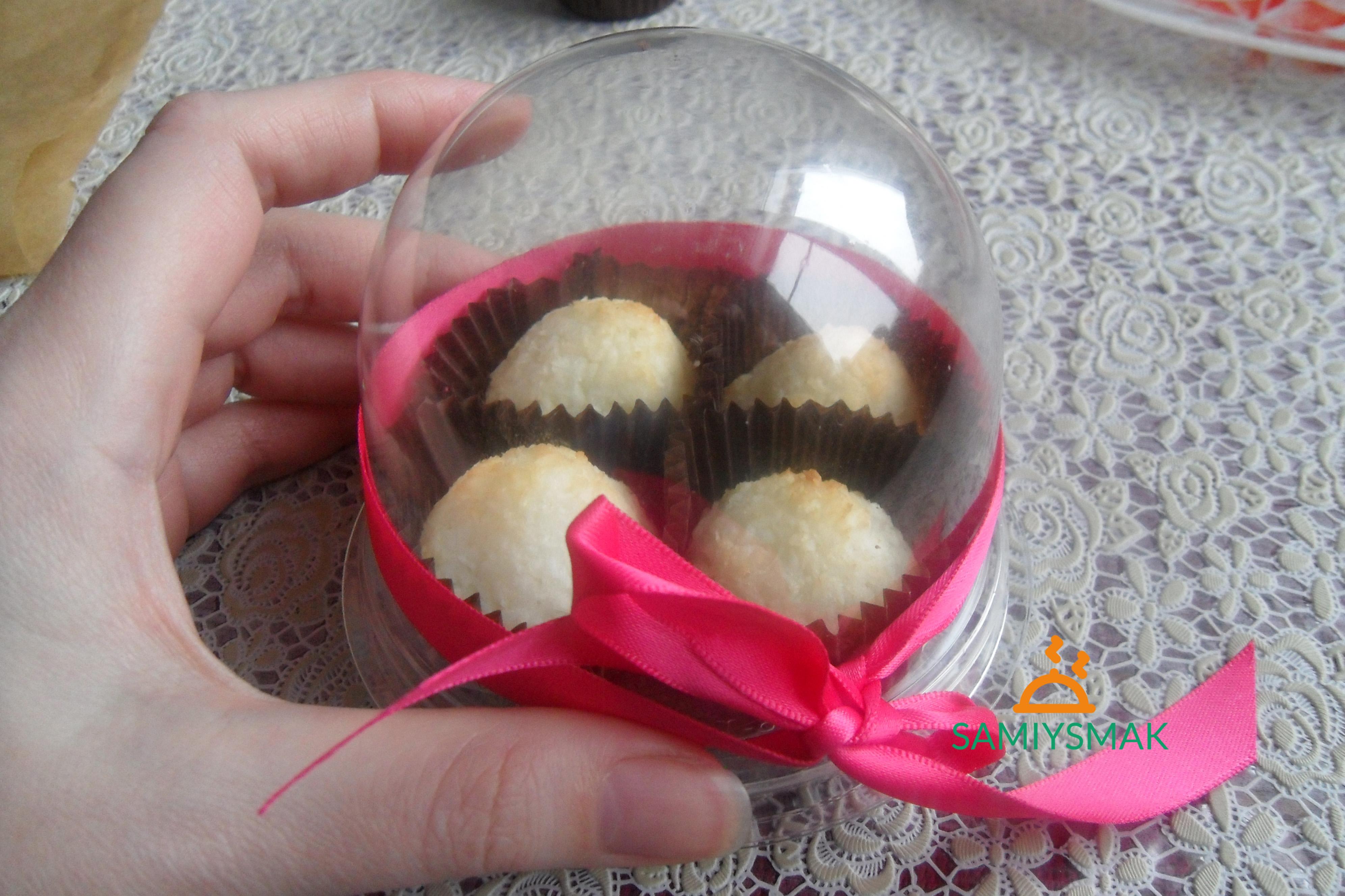 """Печенье """"Кокосанка"""" в подарочкой коробочке"""