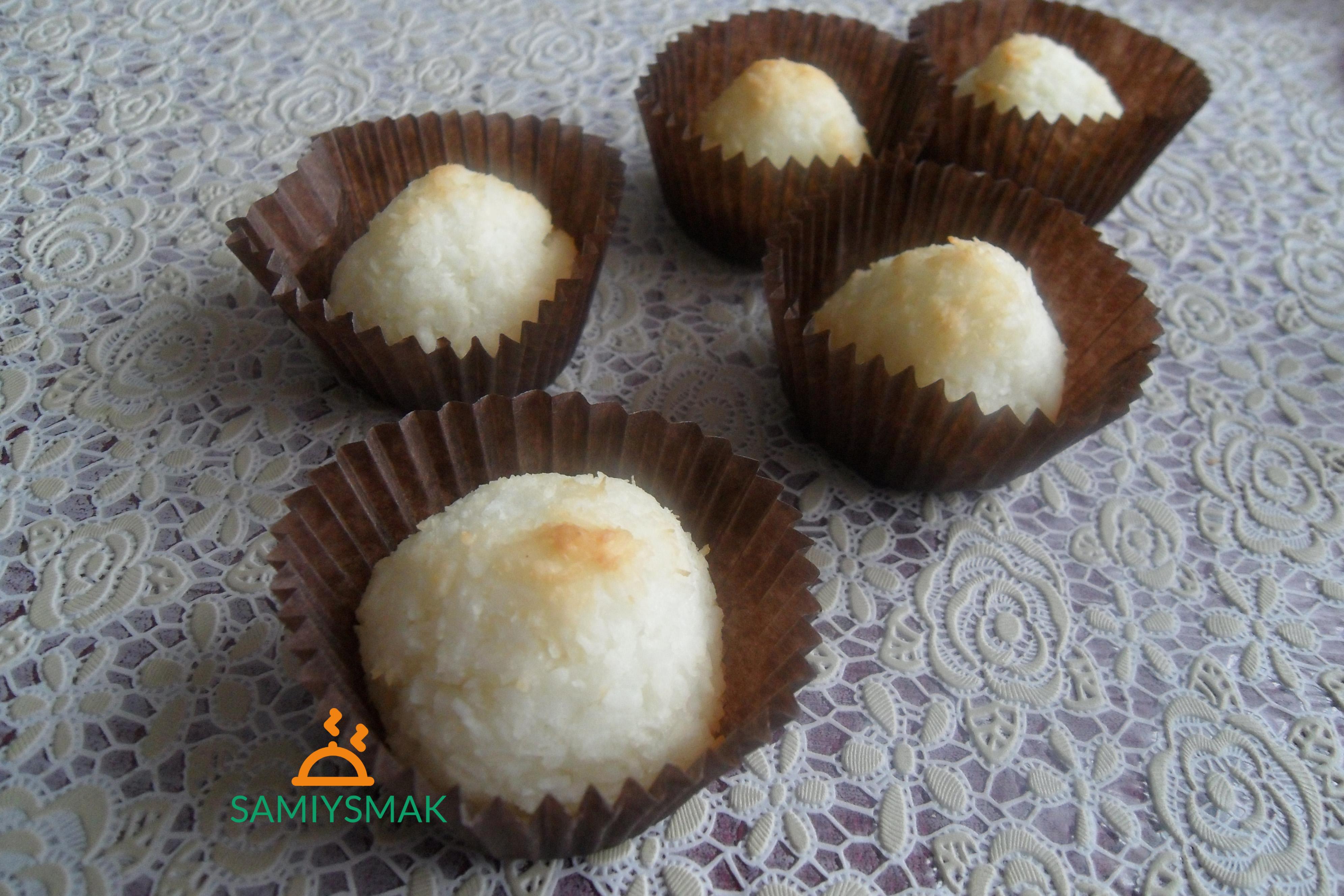 Кокосовое печенье в формочках