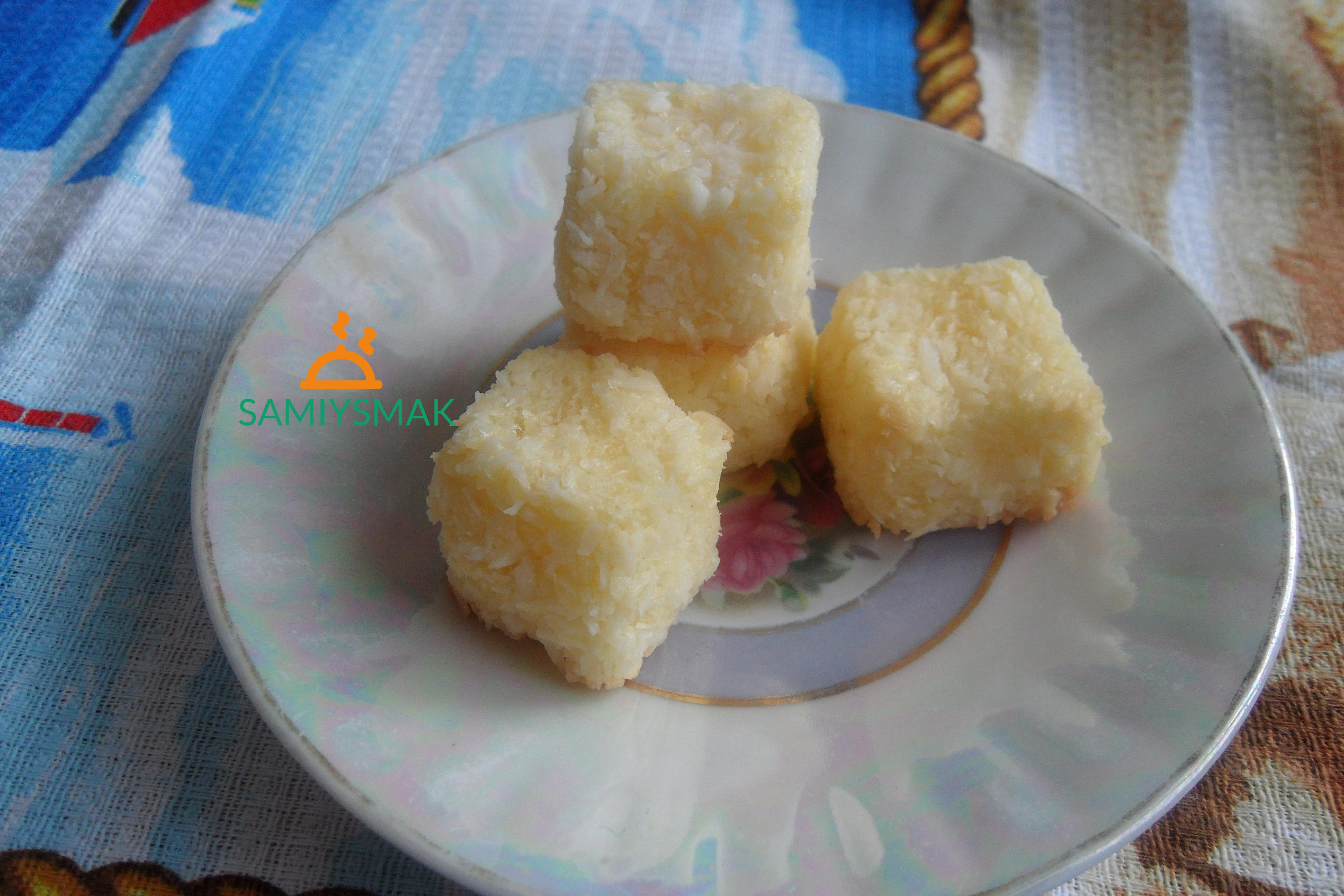 Вкусное печенье из кокоса