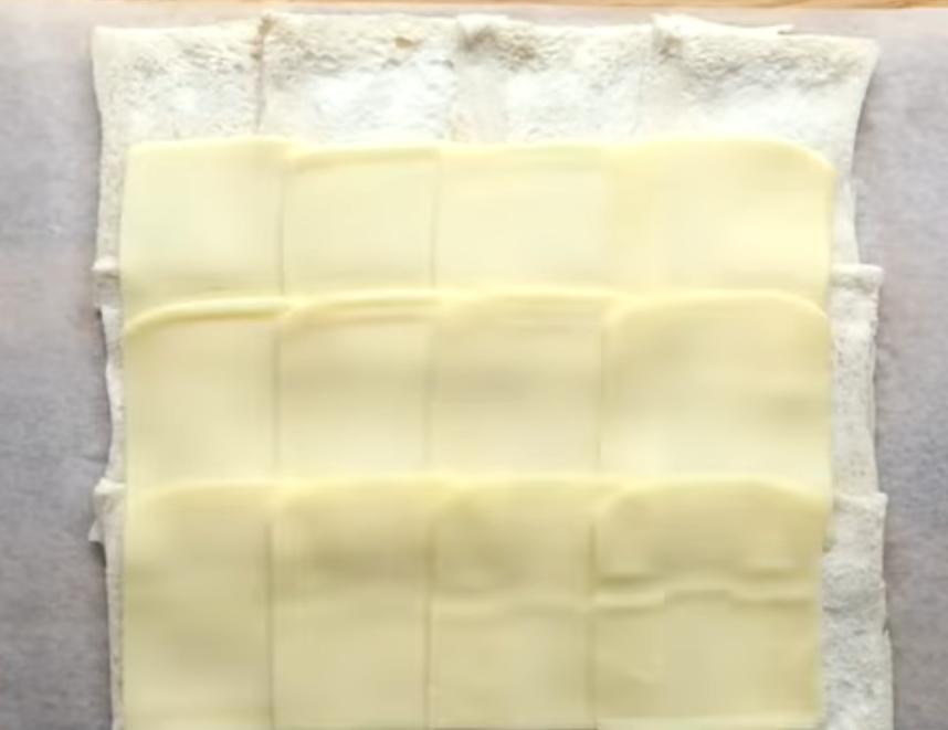 Слои хлеба