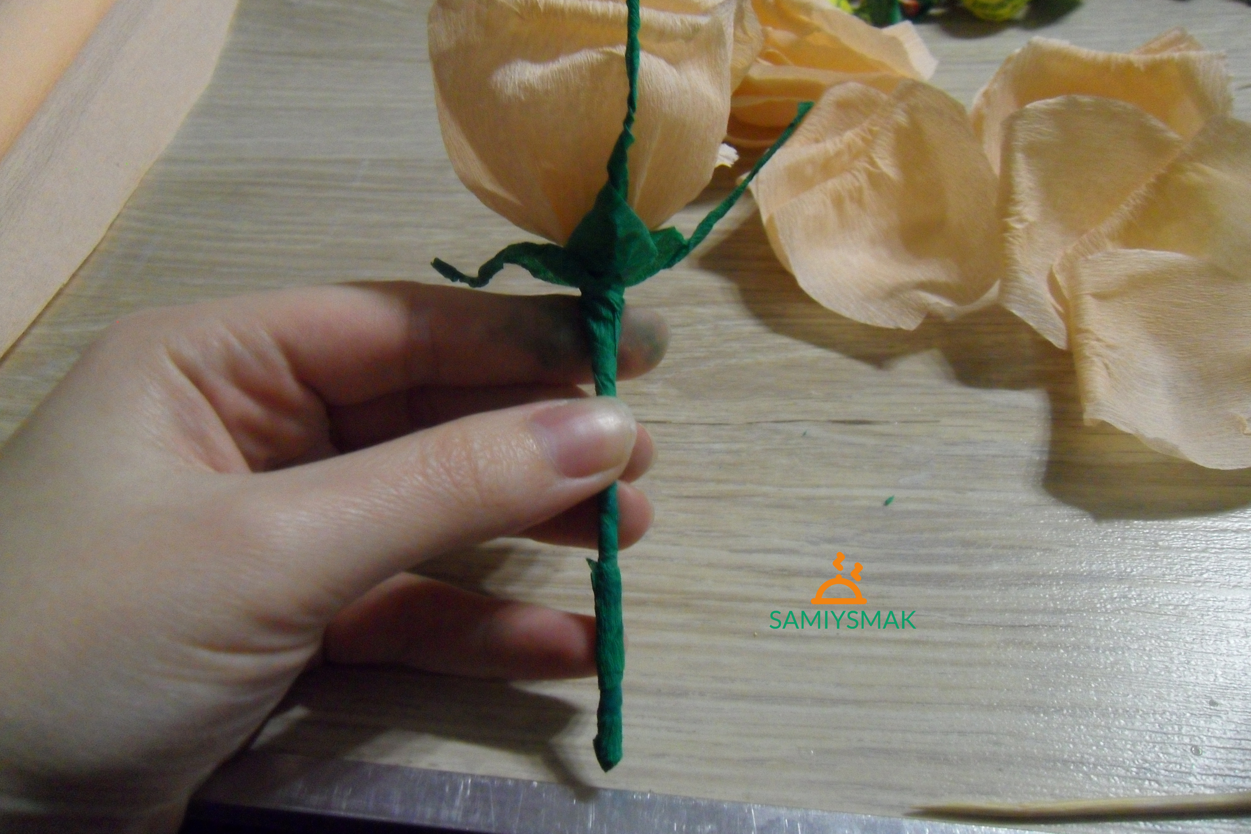 Зеленая травка для цветка