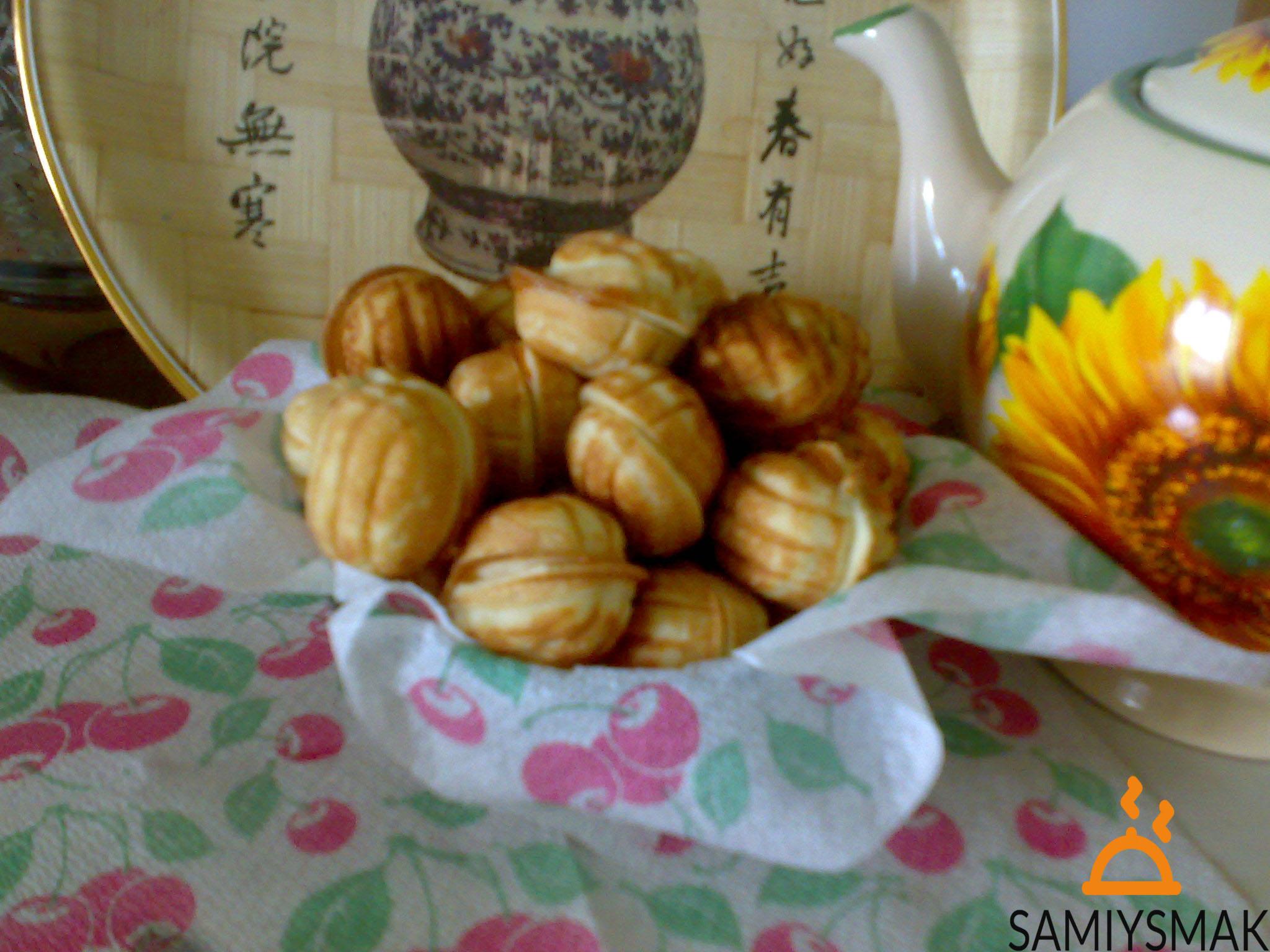 Печенья орешки домашние