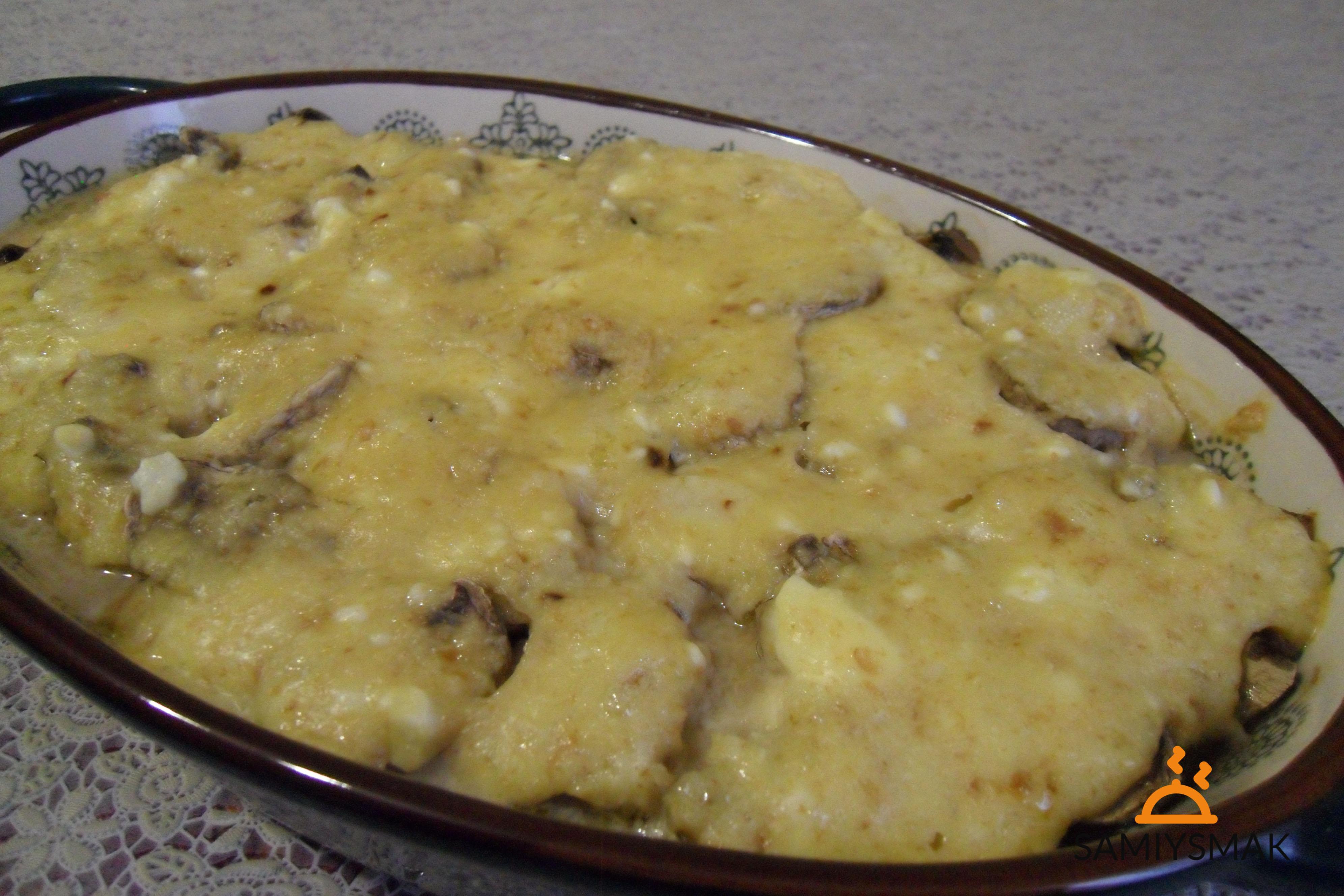 Клафути с грибами по рецепту