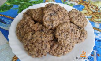 Овсяные печенья домашние