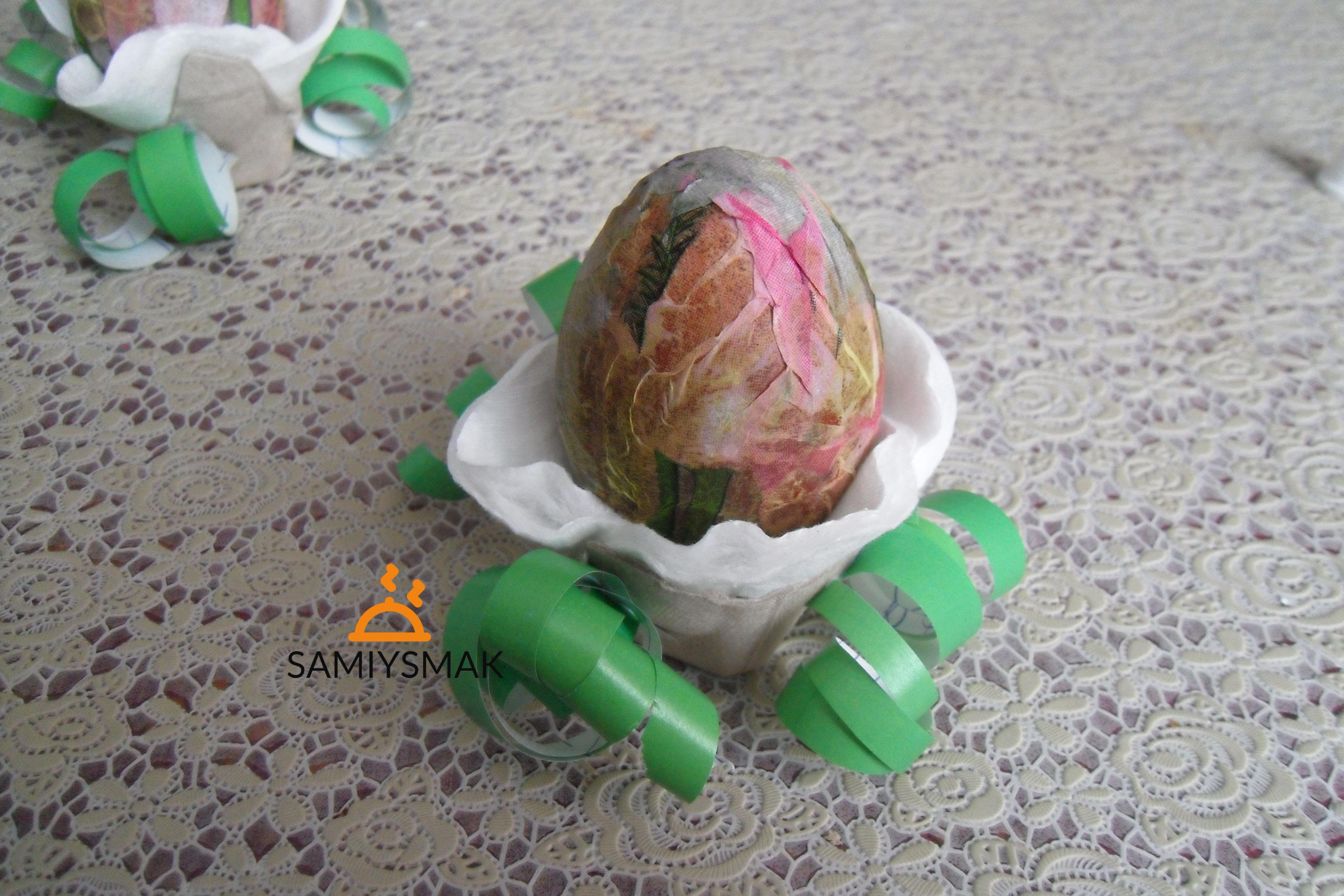 Декор яйца к Пасхе