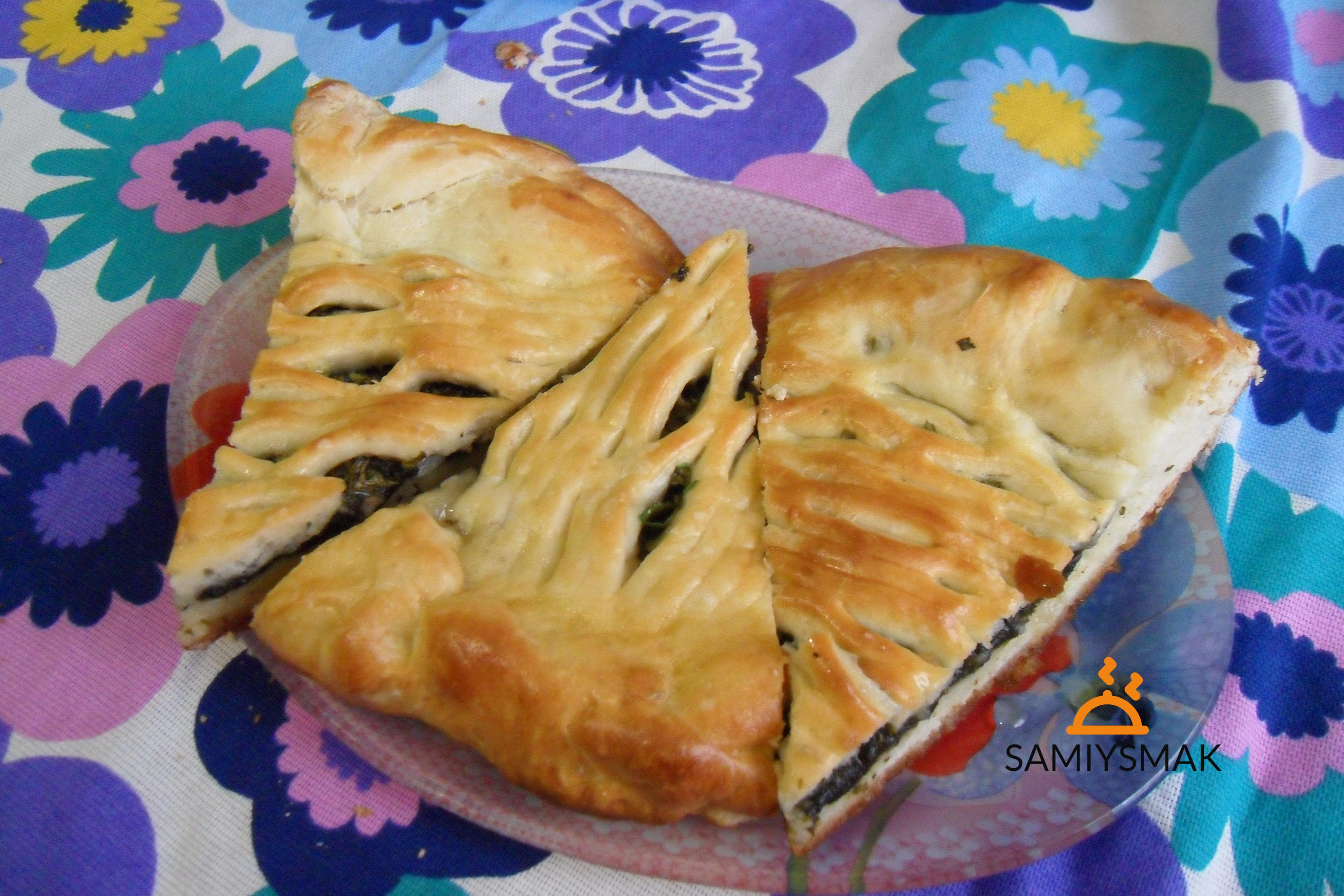 Вкусный пирог со щавелем
