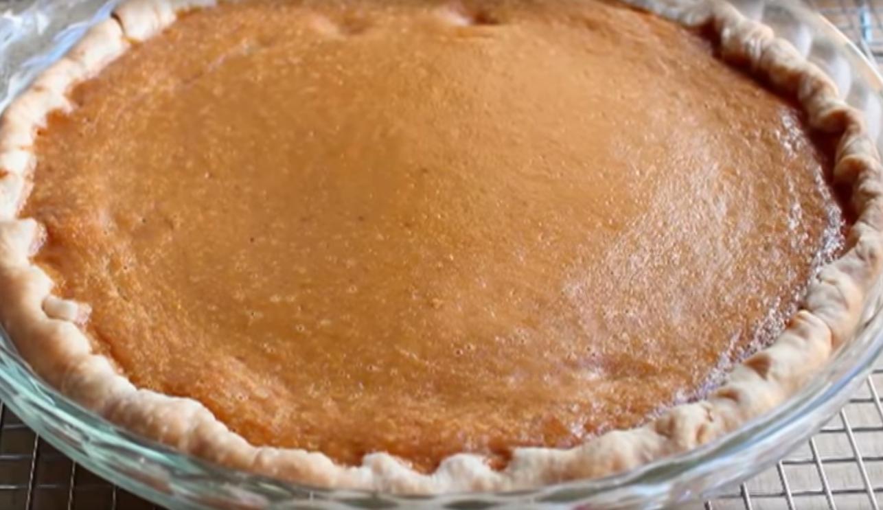 Начинка пирога из тыквы