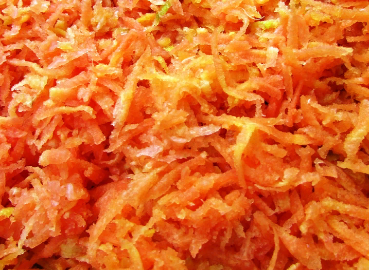 Морковь через терку
