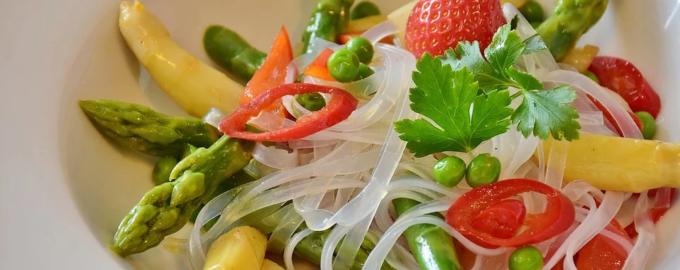 Салаты с макаронами вкусные рецепты