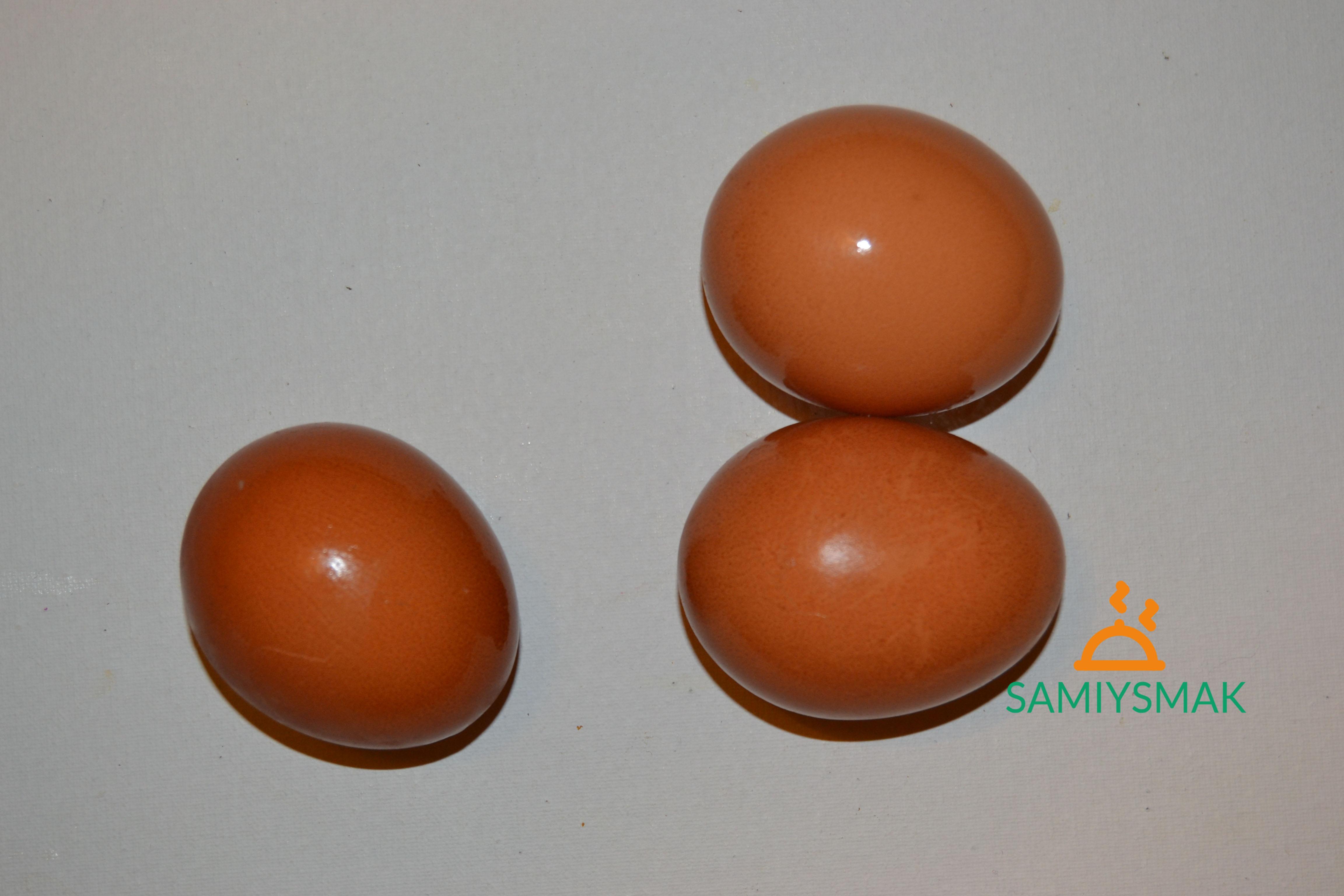 Отварные яйца в салат