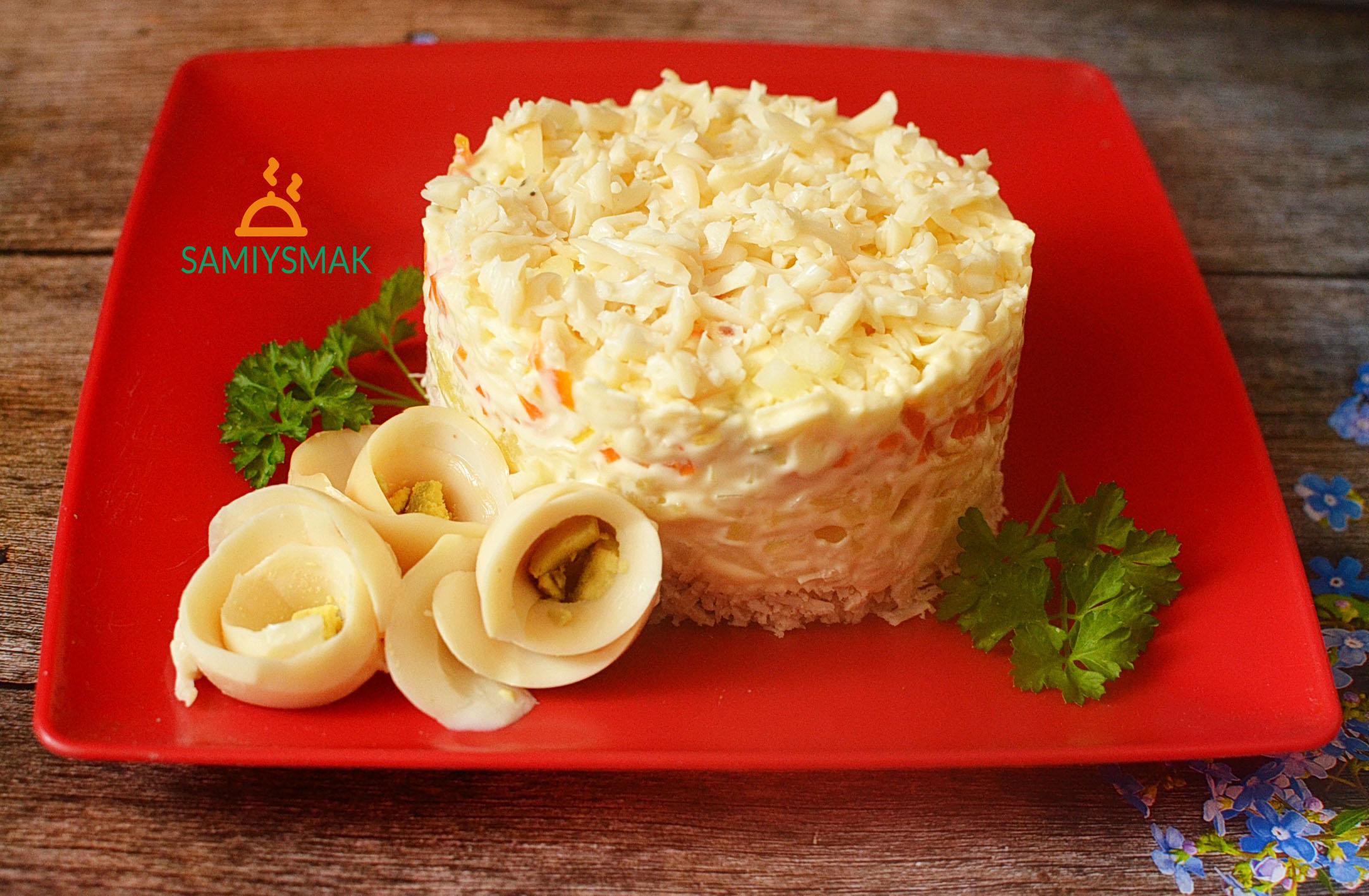 Вкусный салат Невеста
