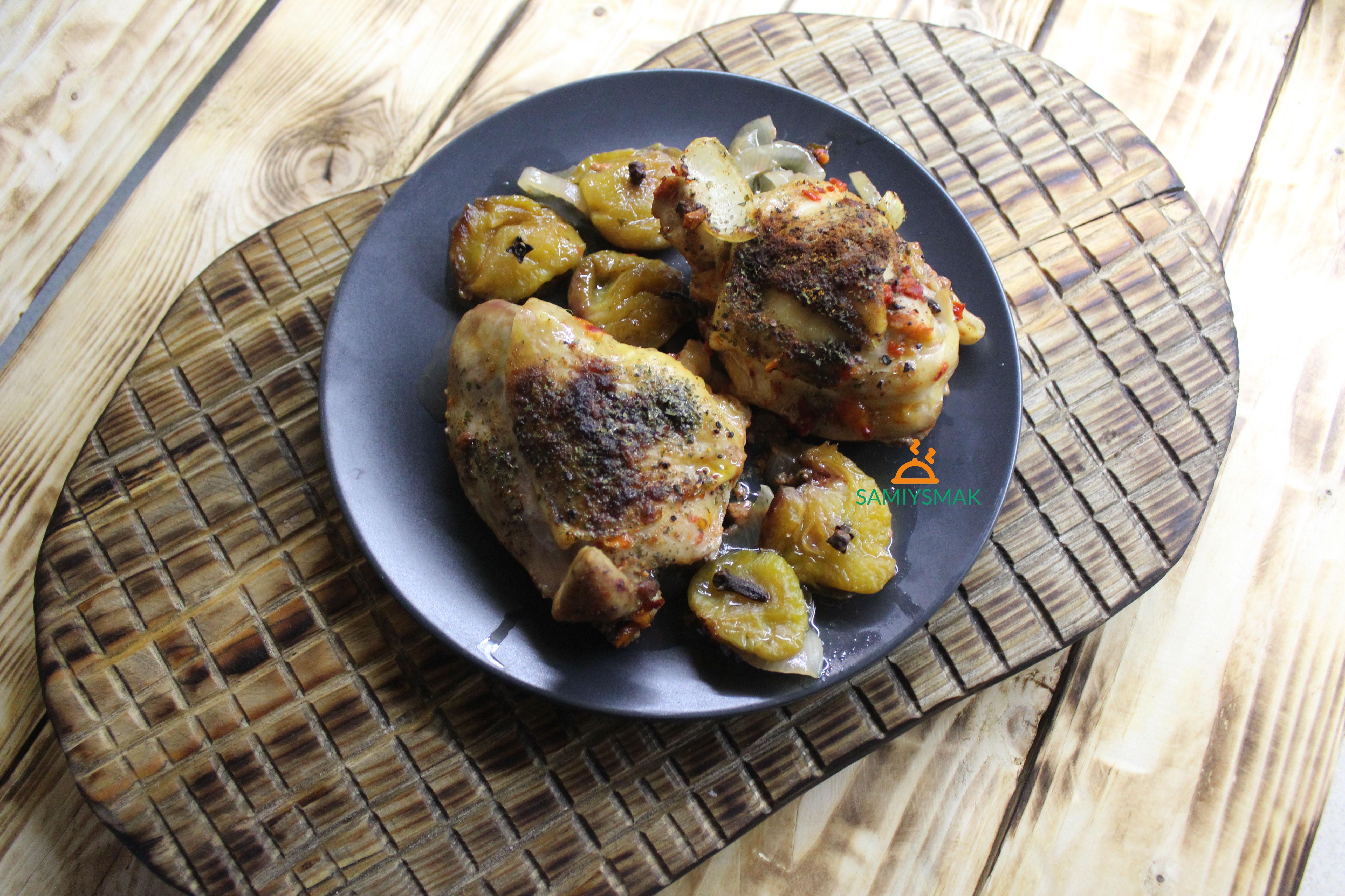 Фото курицы в духовке
